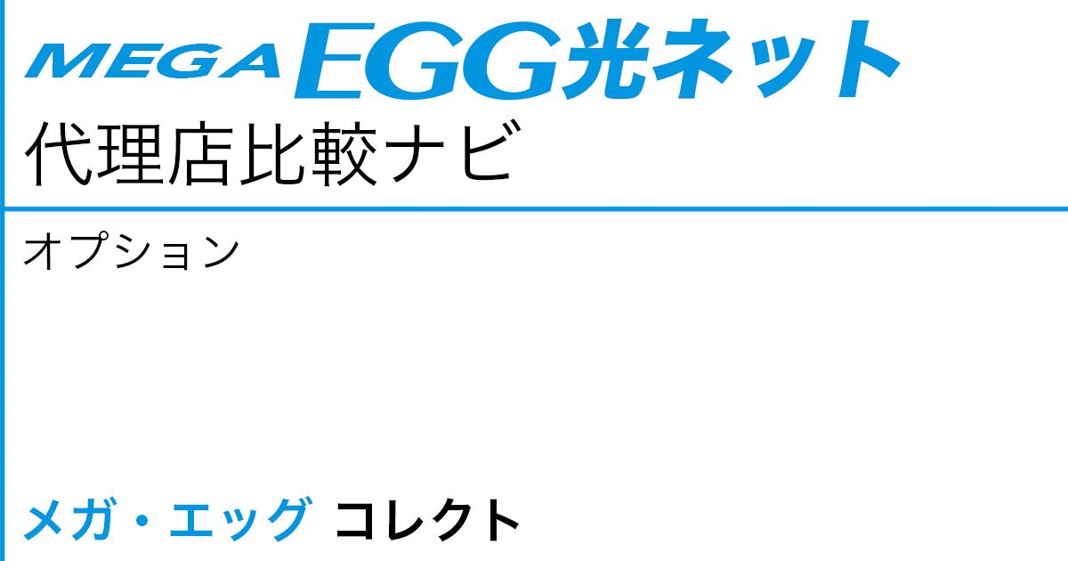 メガ・エッグ 光ネット オプション「メガ・エッグ コレクト」